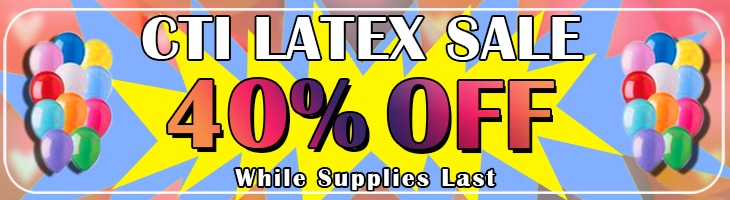 CTI Latex Balloons On Clearance